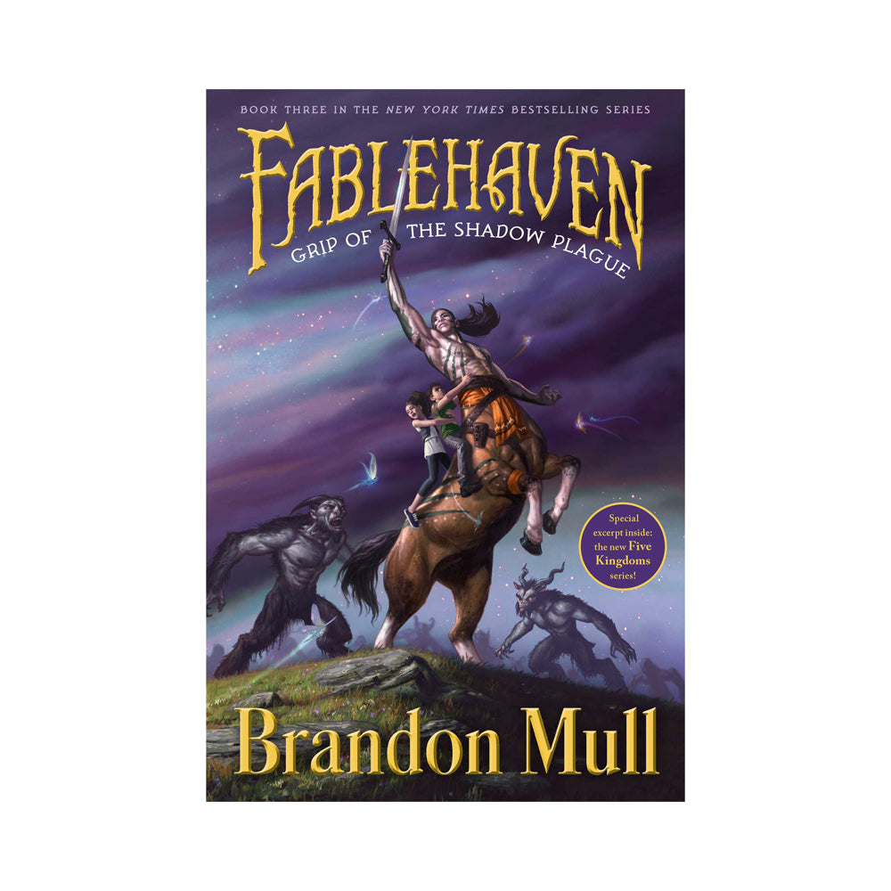 Fablehaven #3: Grip of the Shadow Plague