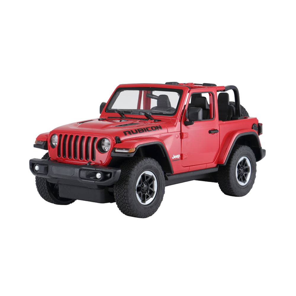 Rastar Red R/C Jeep Wrangler
