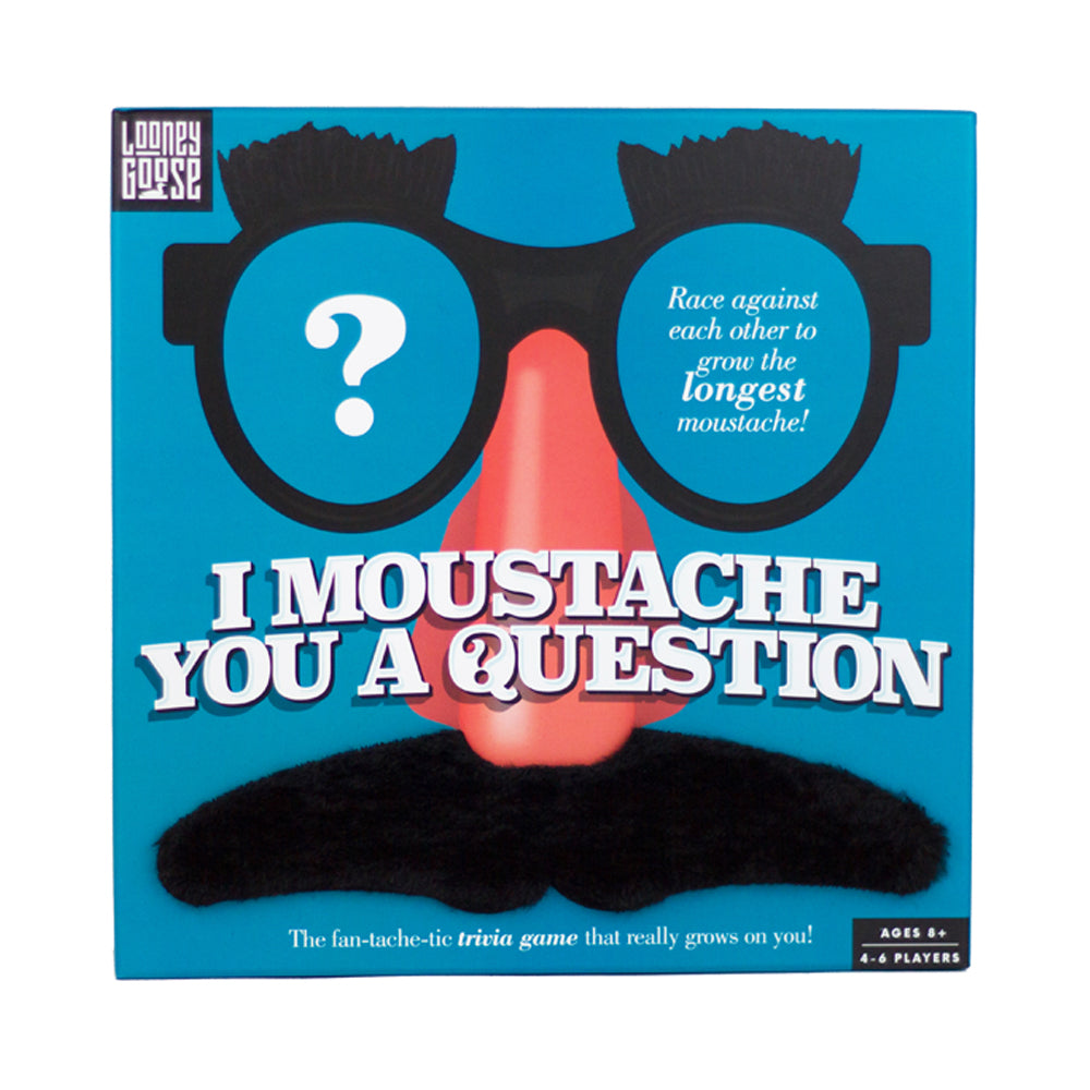 I Moustache You a Question