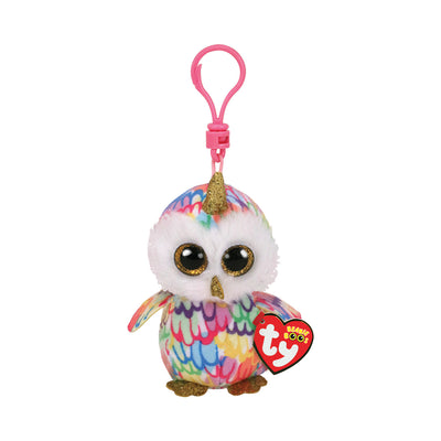 Ty Beanie Boos Clip-On Enchanted the Owlicorn
