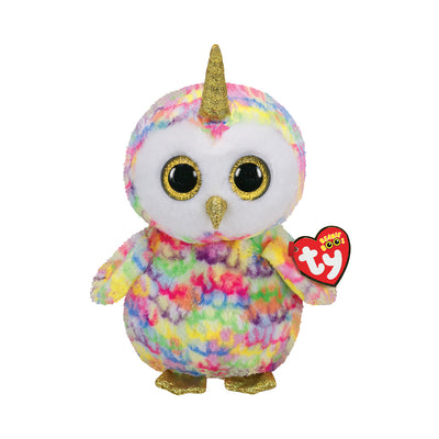 Ty Beanie Boos Medium Enchanted the Owlicorn