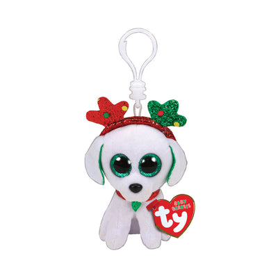 Ty Beanie Boos Clip-On Sugar the Dog
