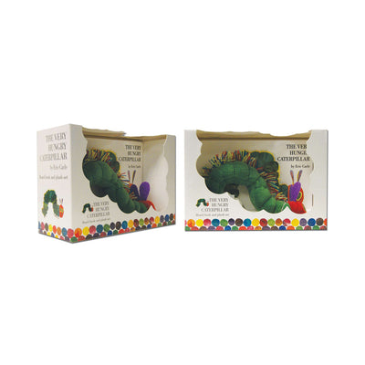 The Very Hungry Caterpillar Board Book and Plush Set