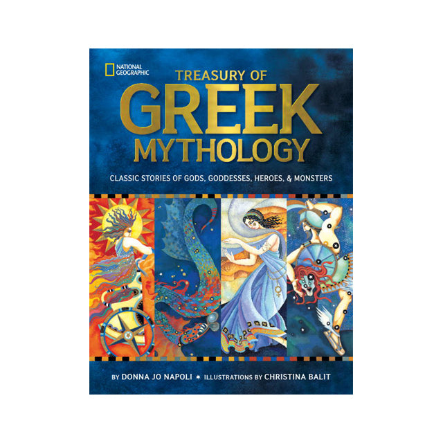 National Geographic Treasury of Greek Mythology