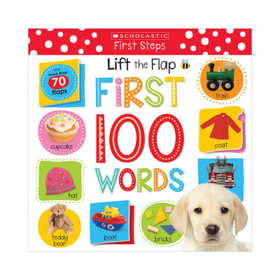 Scholastic Early Learners: Lift the Flap First 100 Words