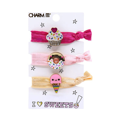CHARM IT! Sweets Hair Elastic Set