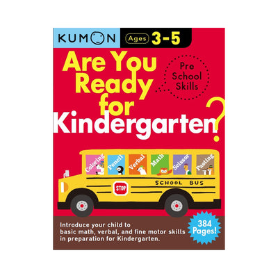 Kumon Are You Ready For Kindergarten? Pre School Skills