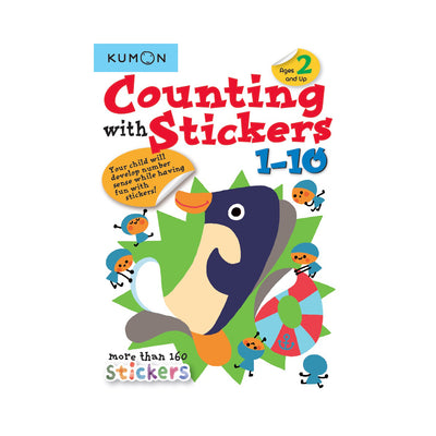 Kumon Counting with Stickers: 1-10