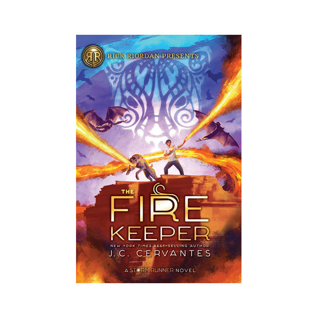The Storm Runner #2: The Fire Keeper