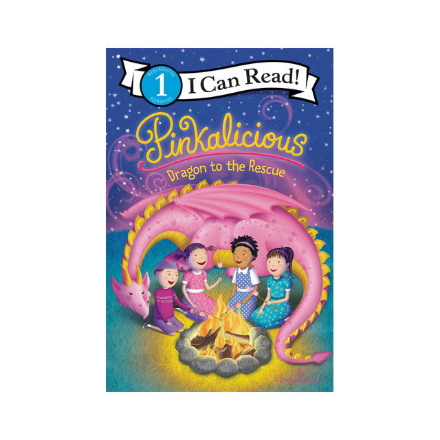 I Can Read! Pinkalicious: Dragon to the Rescue Level 1 Reader