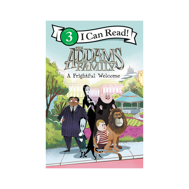 I Can Read! The Addams Family: A Frightful Welcome Level 3 Reader