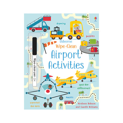 Usborne Wipe-Clean Airport Activities