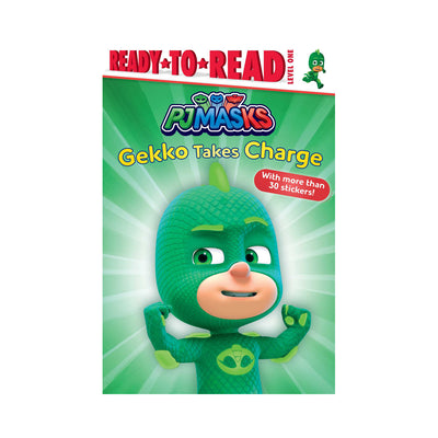 PJ Masks: Gekko Takes Charge Level 1 Reader