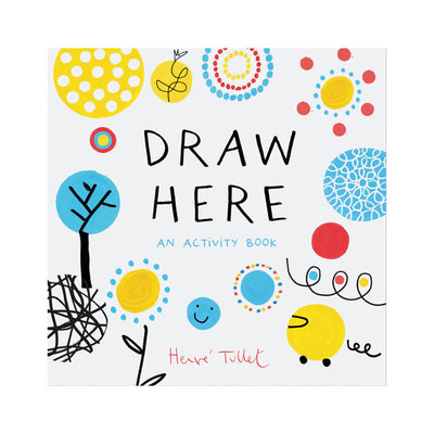 Draw Here An Activity Book