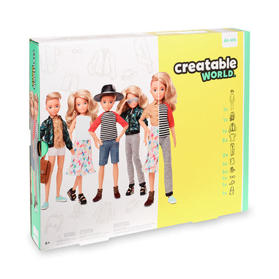 Creatable World™ Deluxe Character Kit Customizable Doll - Blonde Wavy Hair