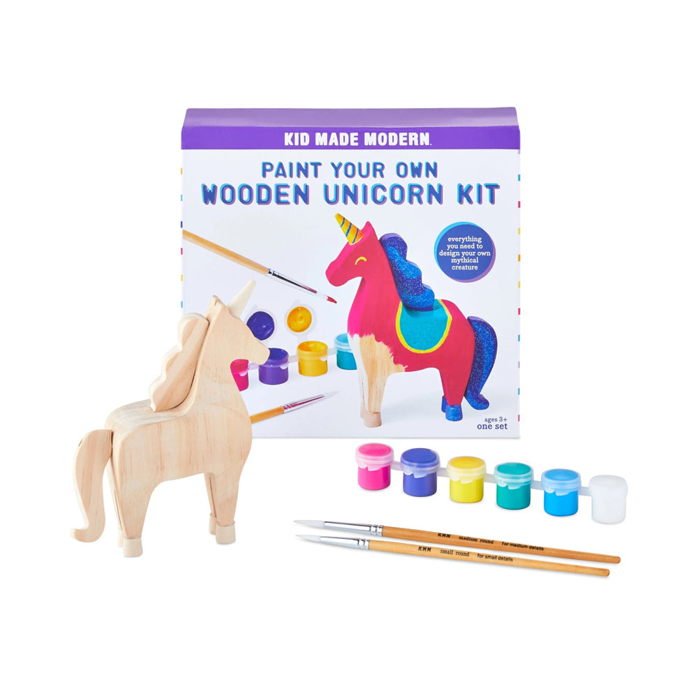 Kid Made Modern Paint Your Own Wooden Unicorn Kit