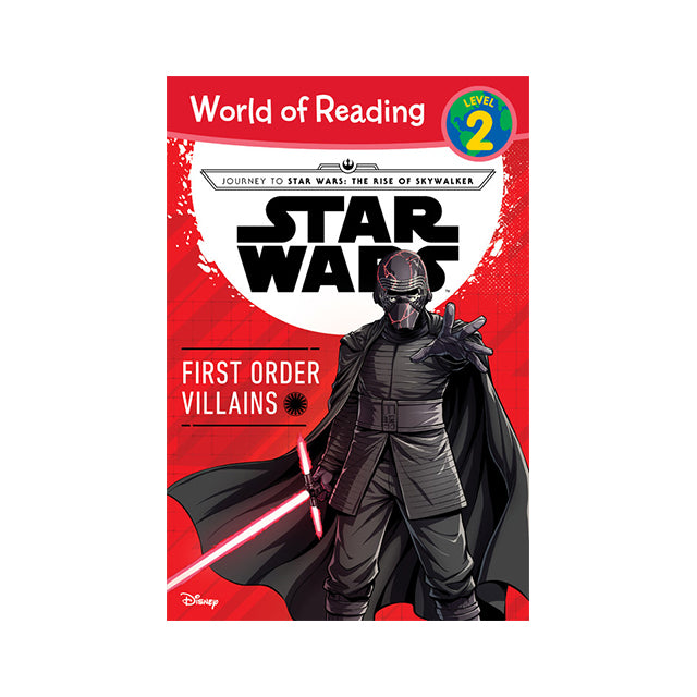 World of Reading: Star Wars™: First Order Villains Level 2 Reader