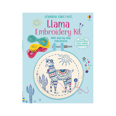 Usborne Craft Kits: Llama Embroidery Kit