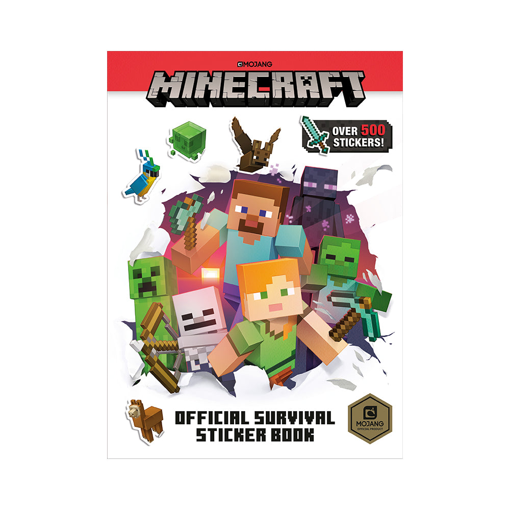 Minecraft Official Survival Sticker Book