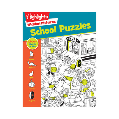 Highlights™ Hidden Pictures®: School Puzzles
