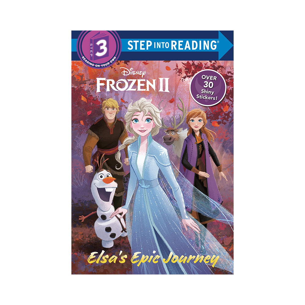 Step Into Reading: Disney Frozen II Elsa's Epic Journey Level 3 Reader