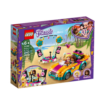 LEGO® Friends™ Andrea's Car & Stage