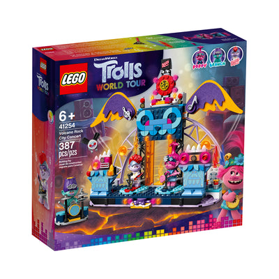 LEGO® Trolls World Tour Volcano Rock City Concert