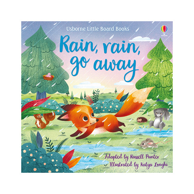 Usborne Little Board Books: Rain, Rain, Go Away