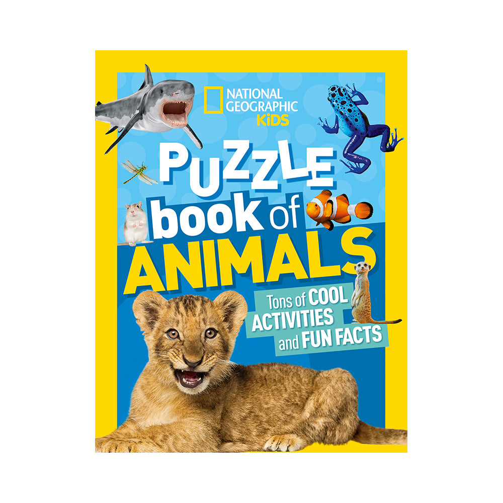 National Geographic Kids: Puzzle Book of Animals