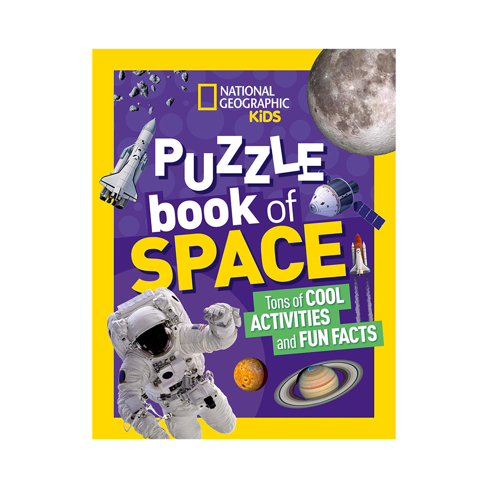 National Geographic Kids: Puzzle Book of Space