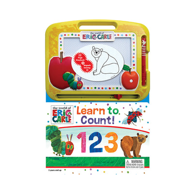The World of Eric Carle: Learn to Count! 123 with Magnetic Drawing Pad