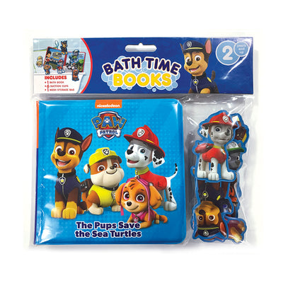 PAW Patrol Bath Time Books