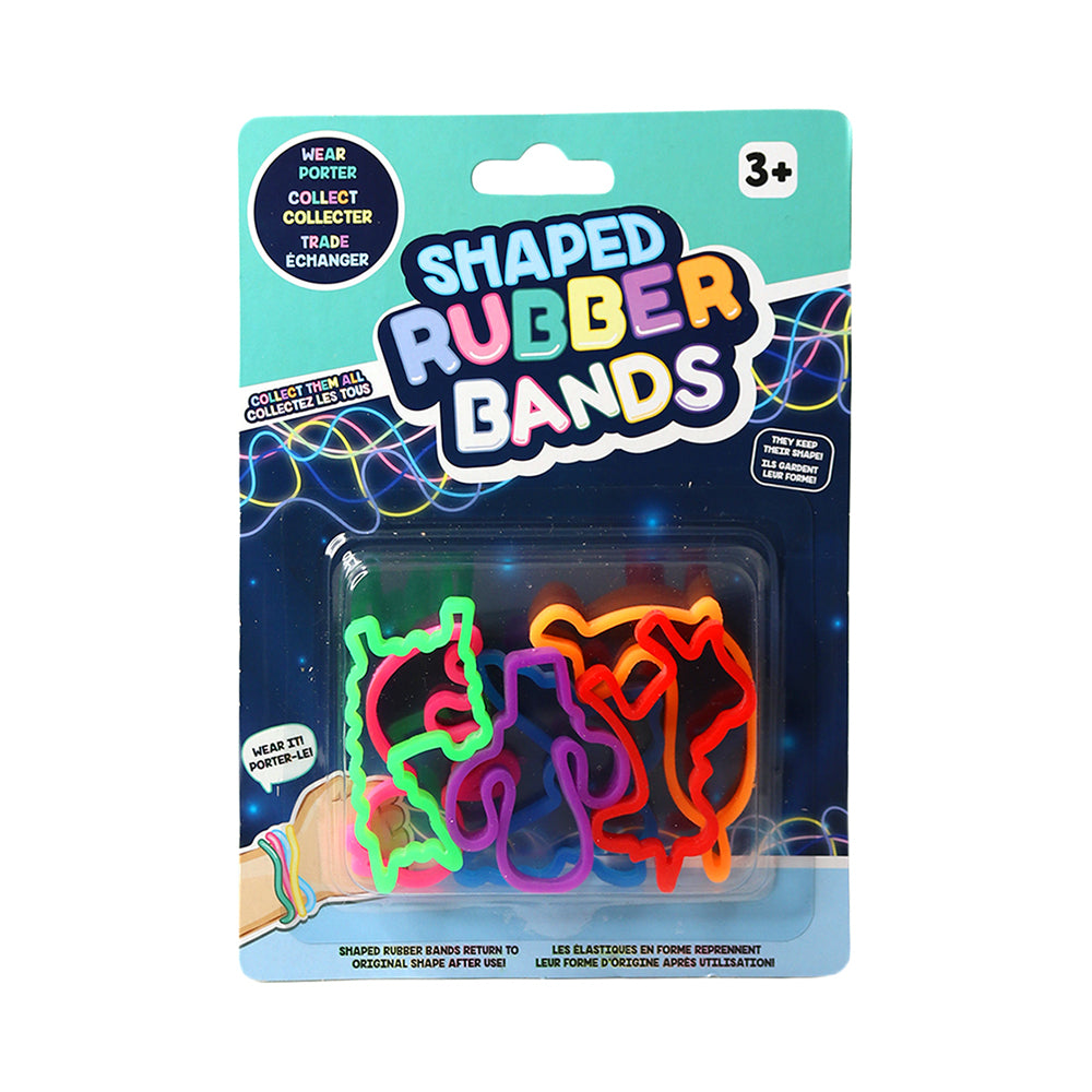 Trending Shaped Rubber Bands