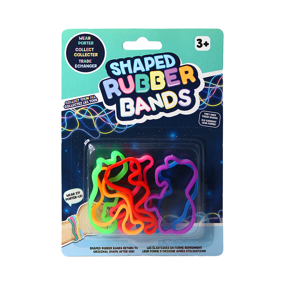Wildlife Shaped Rubber Bands