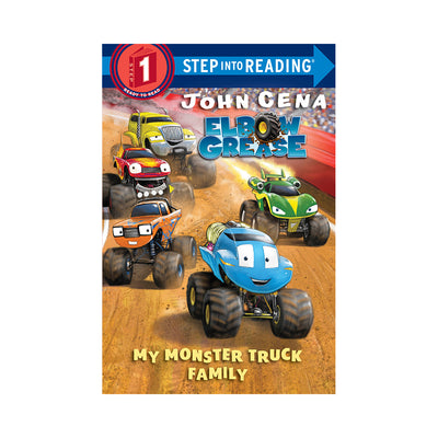 Step Into Reading: Elbow Grease: My Monster Truck Family Level 1 Reader