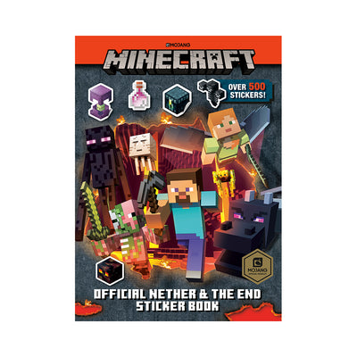 Minecraft: Official Nether & the End Sticker Book