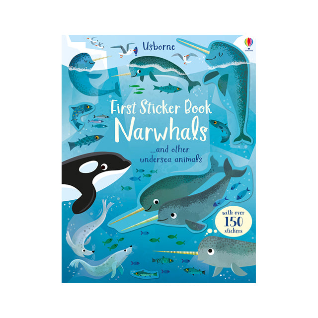 Usborne First Sticker Book: Narwhals
