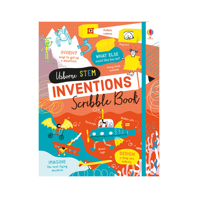 Usborne STEM Inventions Scribble Book