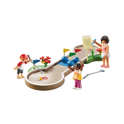 Playmobil Family Fun Mini Golf