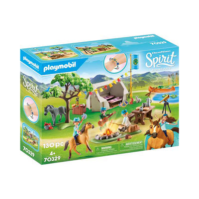 Playmobil DreamWorks Spirit Riding Free Summer Campground
