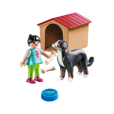 Playmobil Country Dog with Doghouse