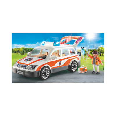 Playmobil City Life Emergency Car with Siren