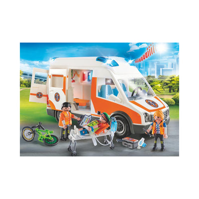 Playmobil City Life Ambulance with Flashing Lights