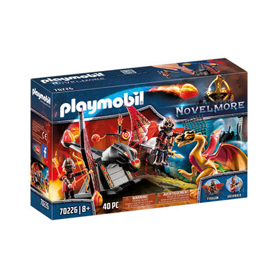 Playmobil Novelmore Burnham Raiders Dragon Training