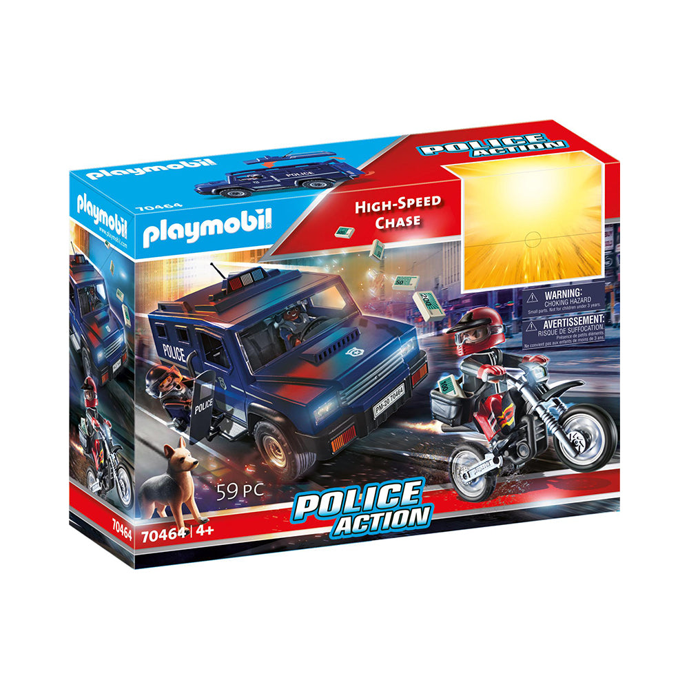 Playmobil City Action High-Speed Chase