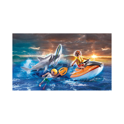 Playmobil City Action Shark Attack Rescue
