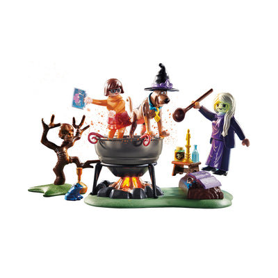 Playmobil Scooby-Doo! Adventure in the Witch's Cauldron