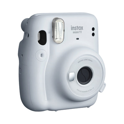 Fujifilm Instax Mini 11 Camera with 10 Pack of Film Included - Ice White