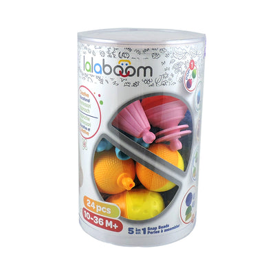 Lalaboom Bloom Beads 24pcs