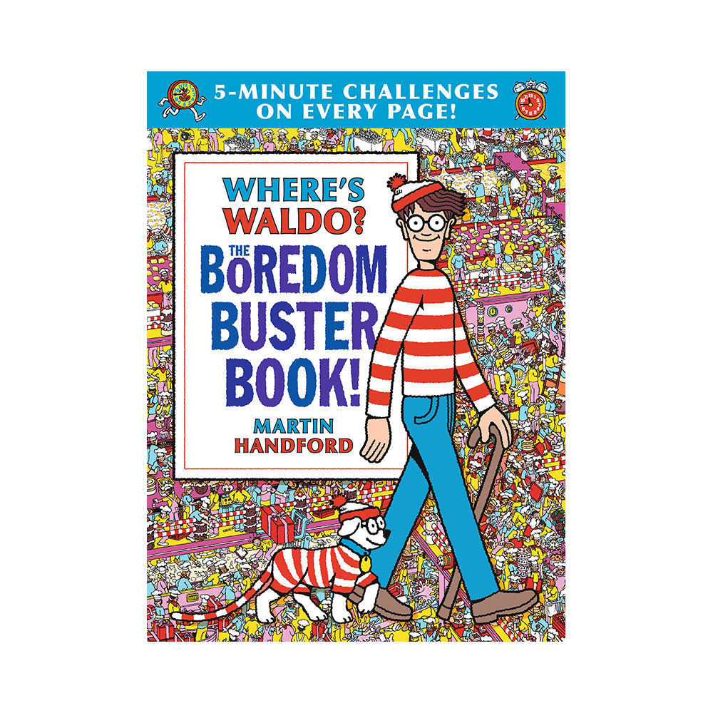 Where's Waldo? The Boredom Buster Book!